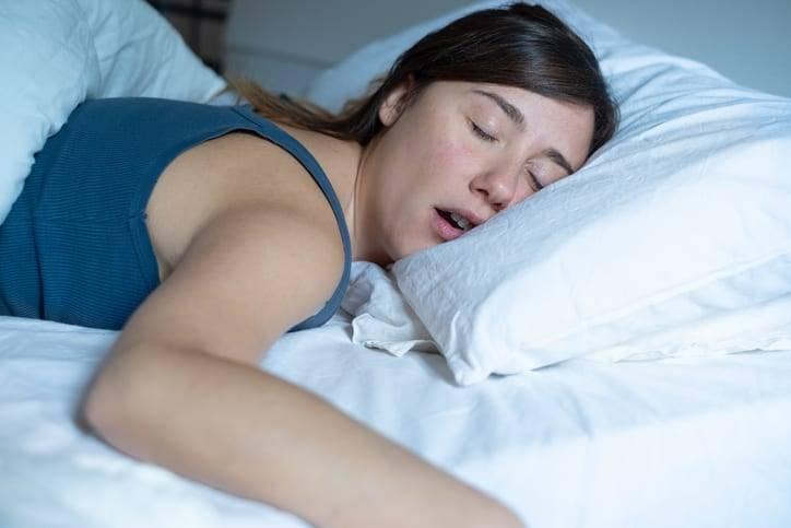 Women Snoring